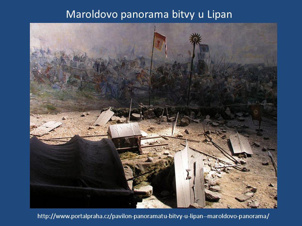Maroldovo panorama bitvy u Lipan http://www.portalpraha.cz/pavilon-panoramatu-bitvy-u-lipan--maroldovo-panorama/