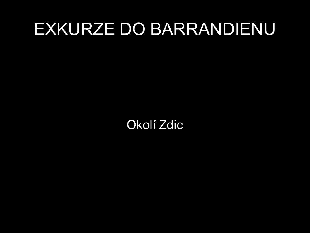 Okolí Zdic EXKURZE DO BARRANDIENU
