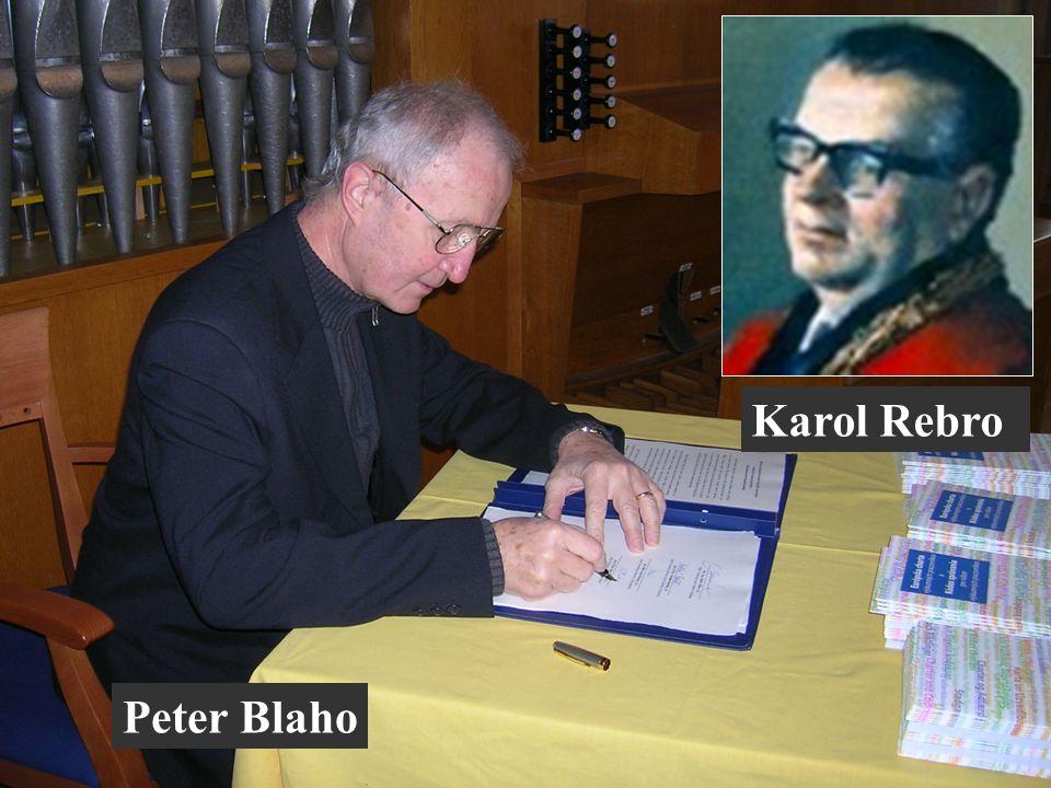 Peter Blaho Karol Rebro