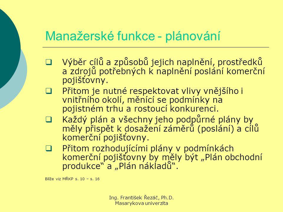 Ing. František Řezáč, Ph.D.