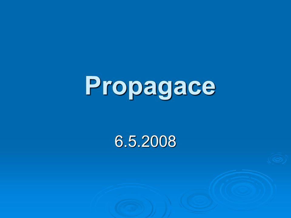 Propagace 6.5.2008