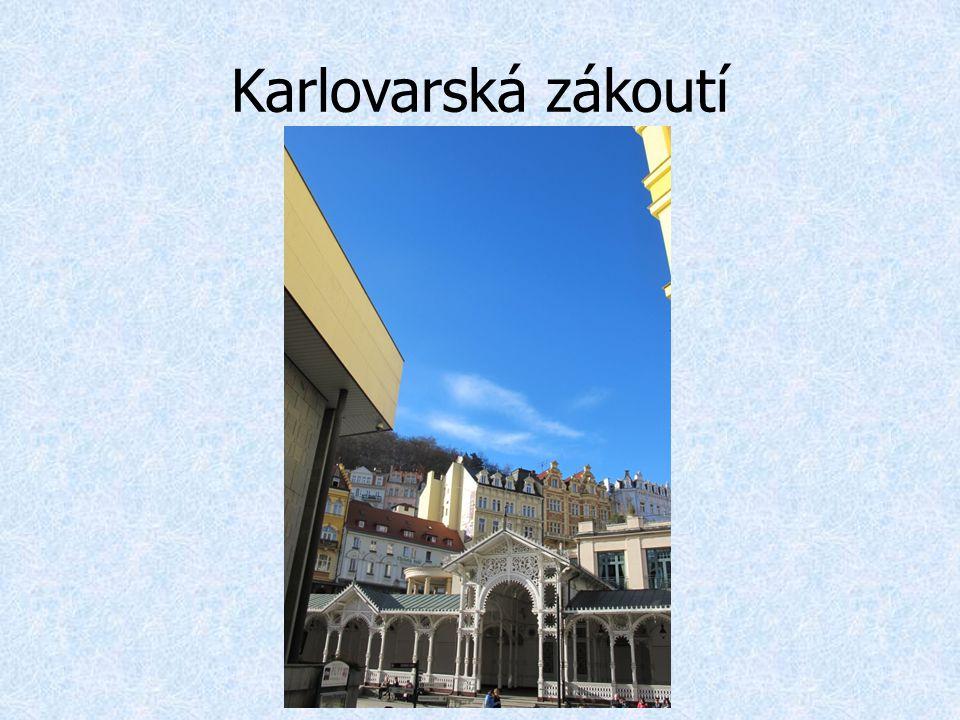 Karlovarská zákoutí