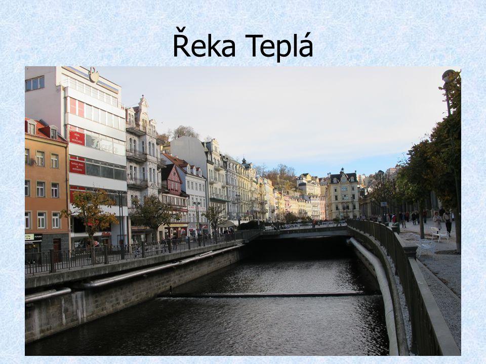 Řeka Teplá