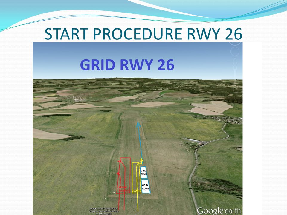 START PROCEDURE RWY 26