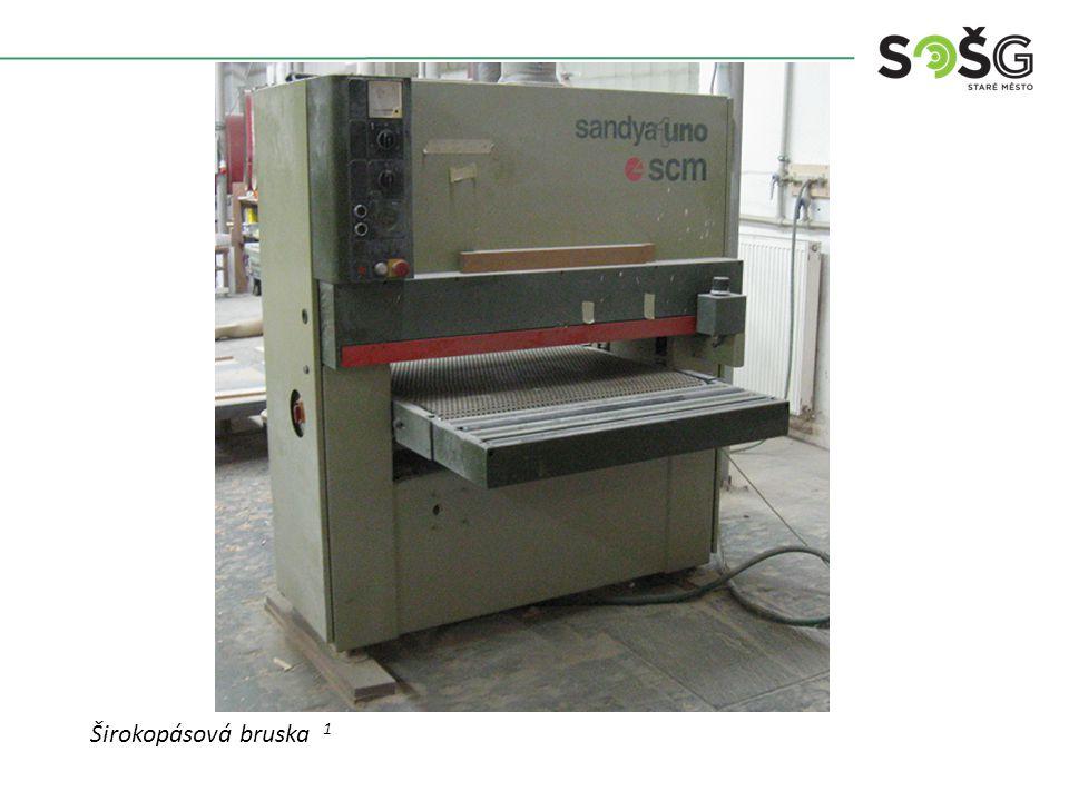 POUŽITÍ : Stroj je určen k broušení hlavních ploch dílců.