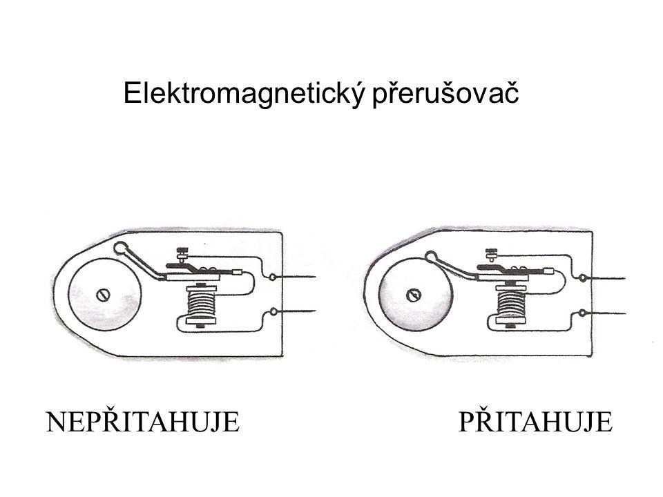Elektromagnetický přerušovač NEPŘITAHUJEPŘITAHUJE