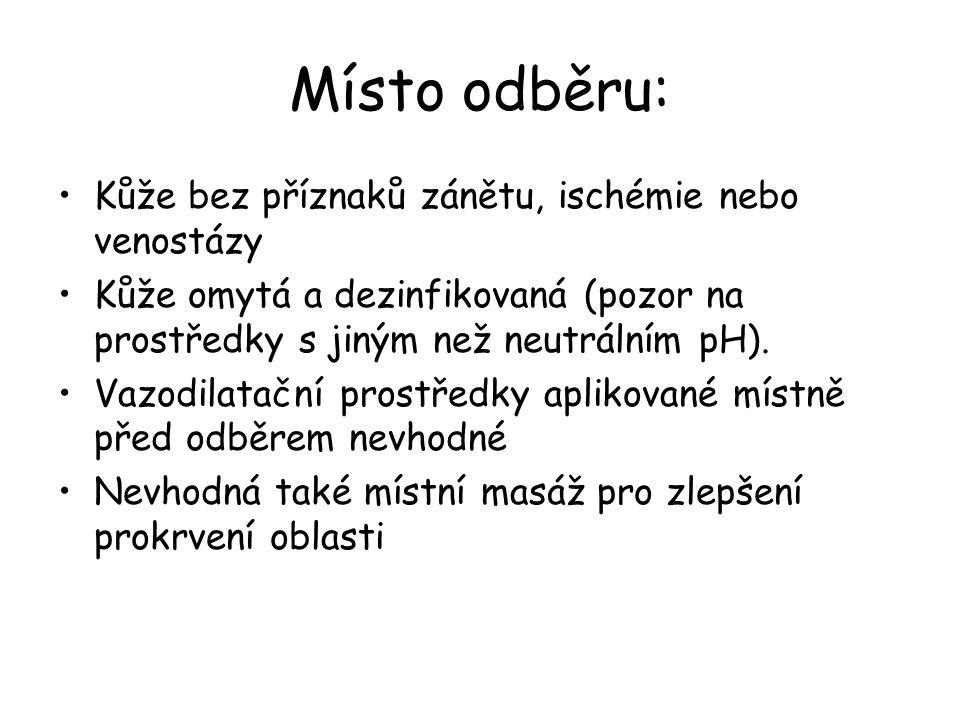 Metabolická acidóza Aniontový gap >12 mmol/l Přítomnost neměřených metabolických aniontů  Diabetická ketoacidóza  Alkoholická ketoacidóza  Laktátová acidóza  Hladovění  Nedostatečnost ledvin Přítomnost léků nebo chemických aniontů (otrava salicyláty, metanolem a etylén glykolem)