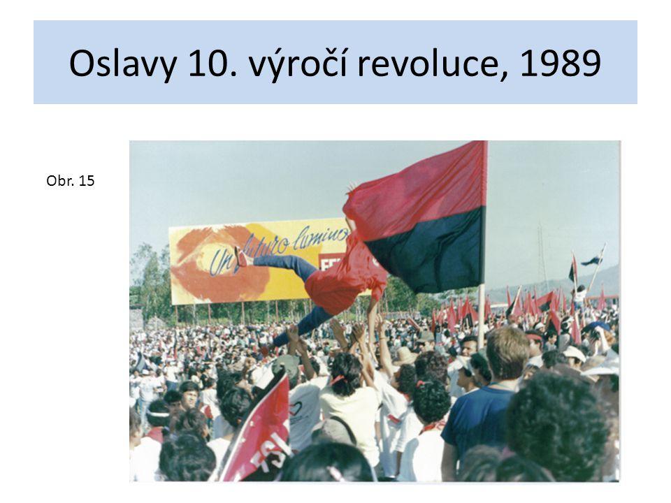 Oslavy 10. výročí revoluce, 1989 Obr. 15