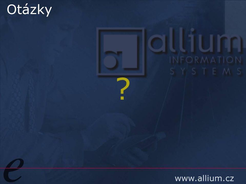 www.allium.cz Otázky ?