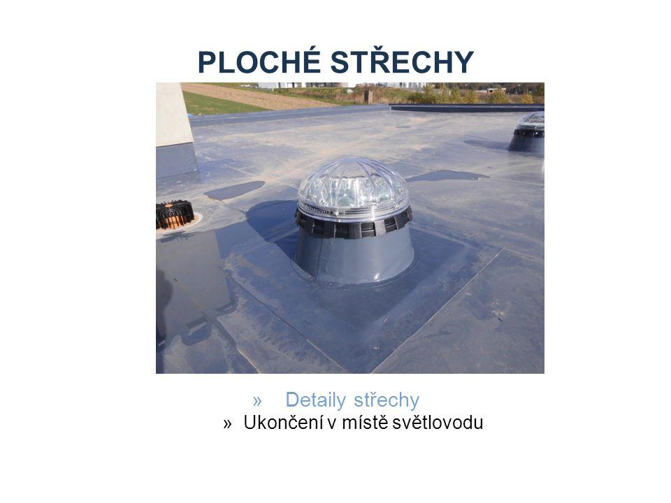 PLOCHÉ STŘECHY »Detaily střechy »Detail atiky