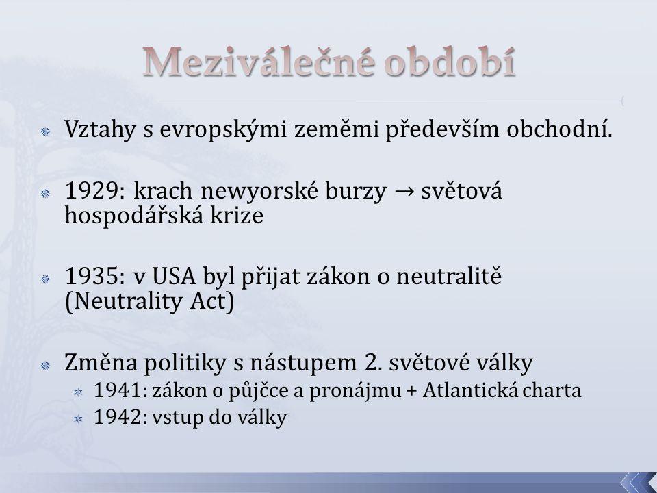  Proměna mezinárodního systému  Bipolarita  USA vs.