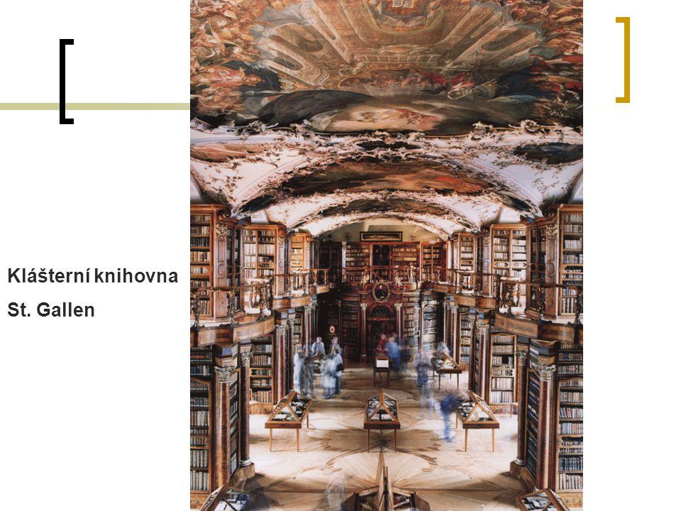 Klášterní knihovna St. Gallen