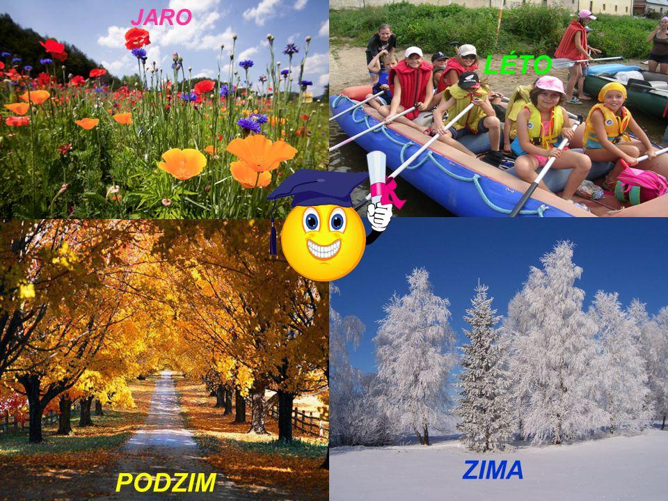 PODZIM // Označ podzimní měsíce: 1.Září, říjen, listopad 2.Říjen, listopad, prosinec 12345
