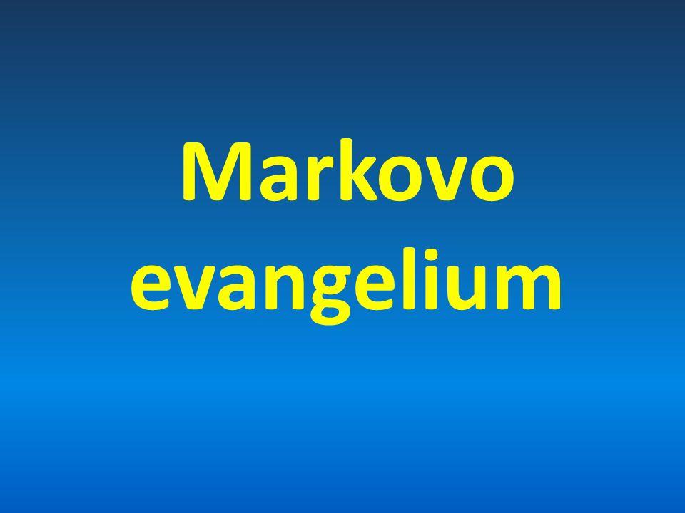 Autor a datum vzniku Marek 50. – 60 po. Kr.