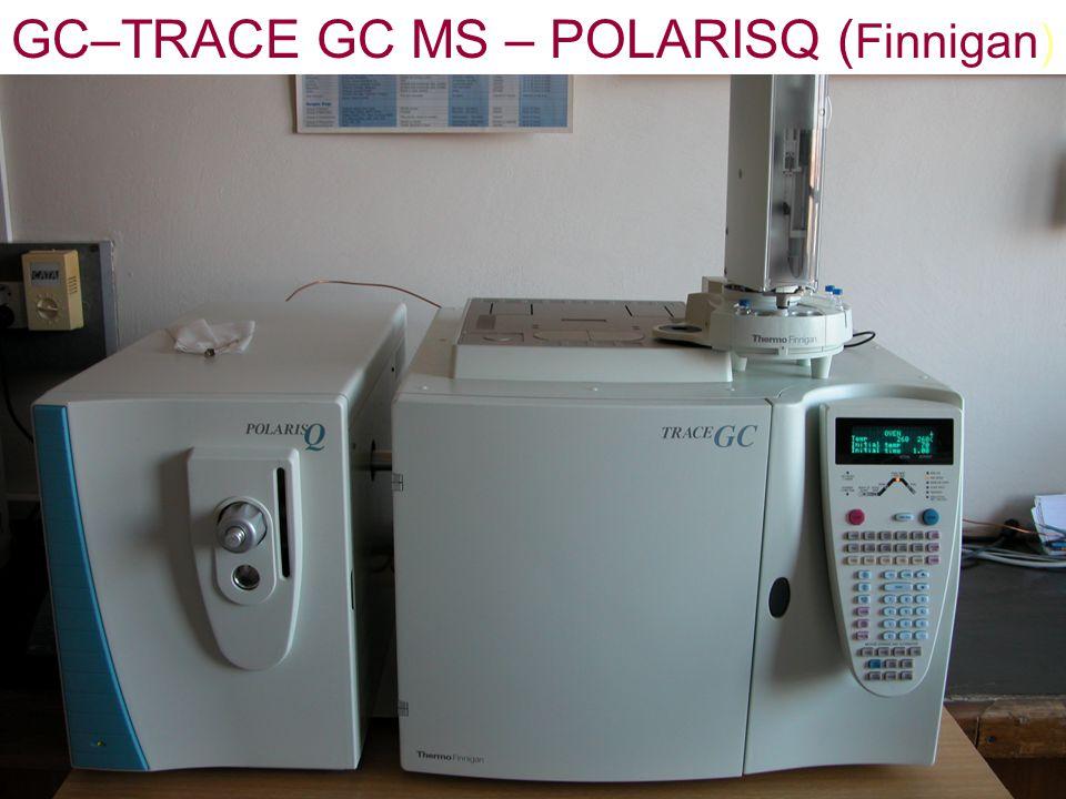 23 GC–TRACE GC MS – POLARISQ ( Finnigan)