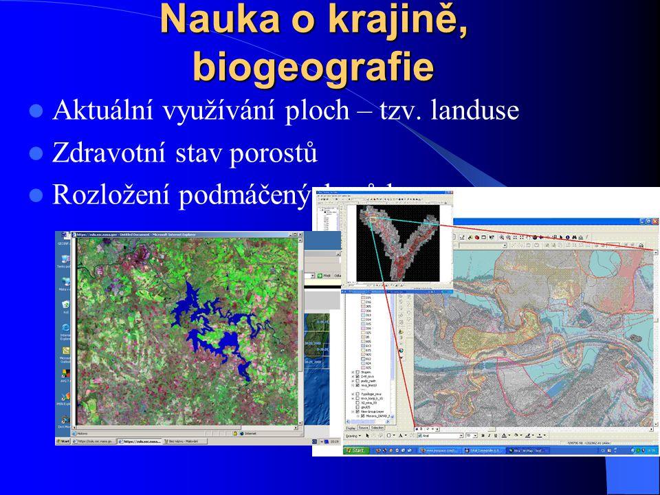 Hydrologie povodí a subpovodí, proudění vody, ukládání materiálu