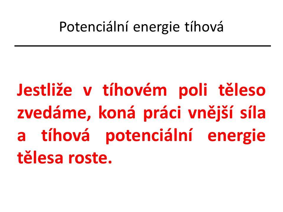 Potenciální energie pružnosti