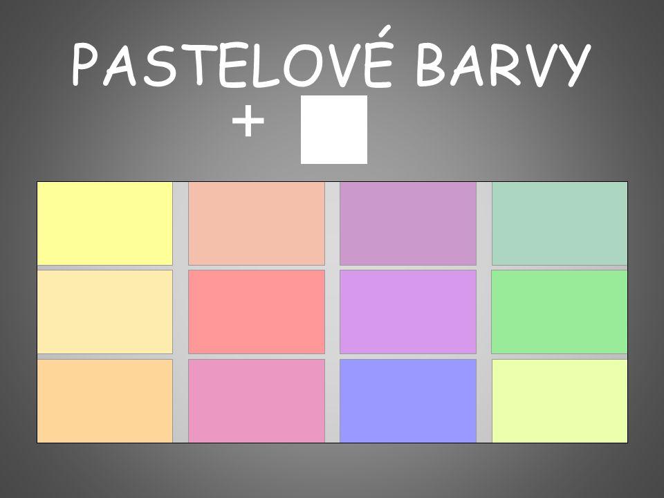 PASTELOVÉ BARVY +