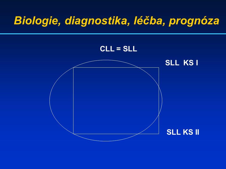 CLL = SLL SLL KS I SLL KS II Biologie, diagnostika, léčba, prognóza