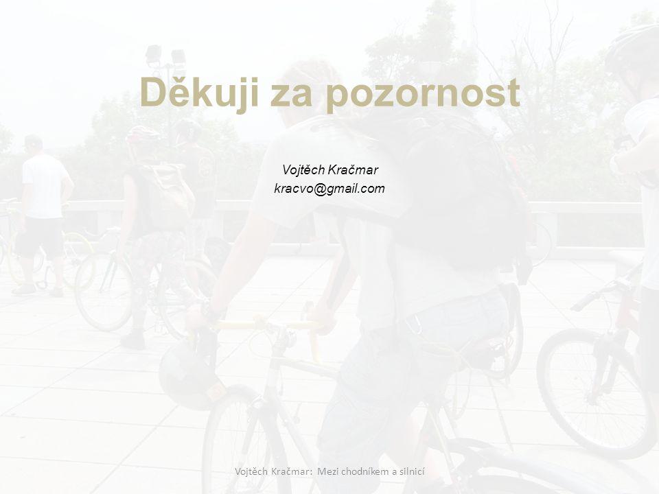 Vojtěch Kračmar kracvo@gmail.com Vojtěch Kračmar: Mezi chodníkem a silnicí Děkuji za pozornost