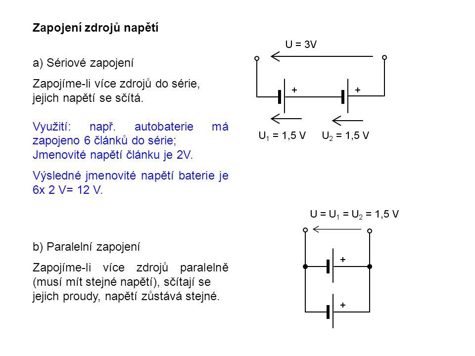 PRACOVNÍ LIST 1.Kontrolní otázky: Jak velké napětí získáme, spojíme-li sériově baterii 9V a baterii 1,5 V .