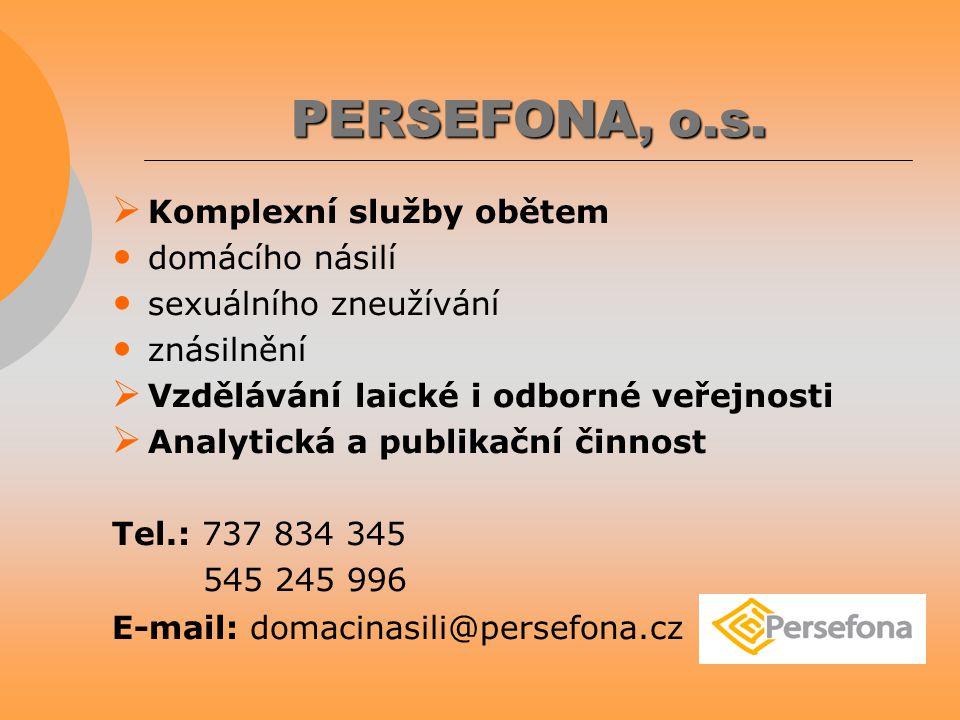PERSEFONA, o.s.