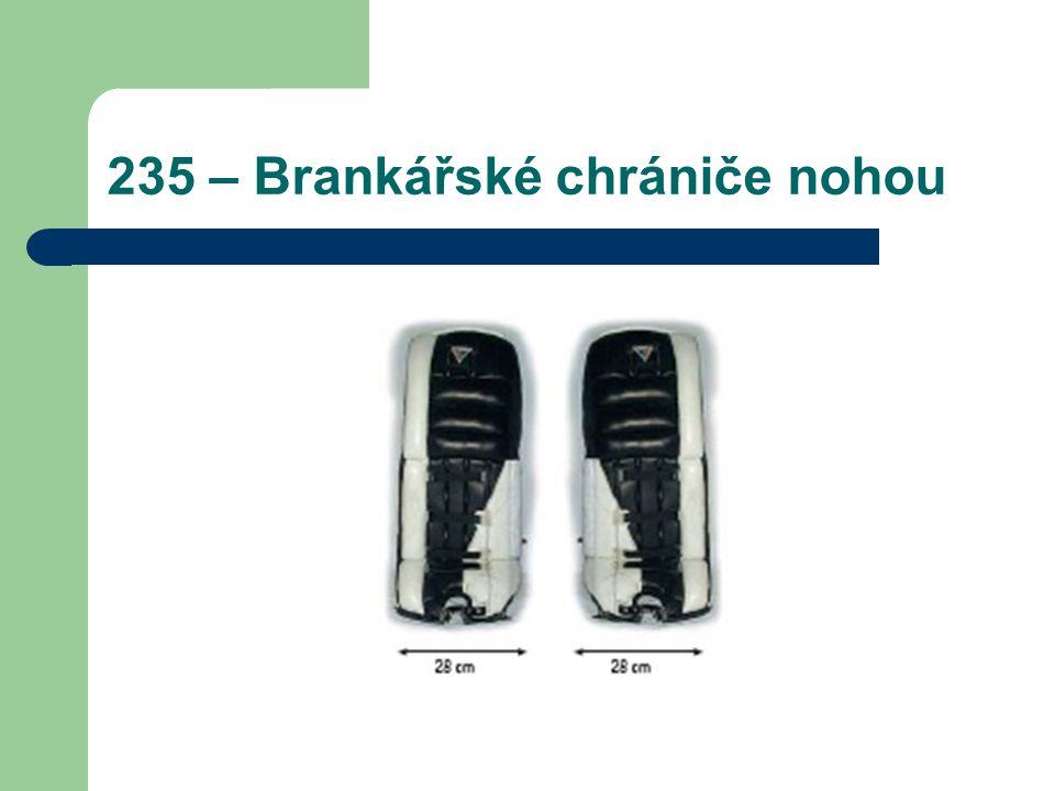 235 – Brankářské chrániče nohou