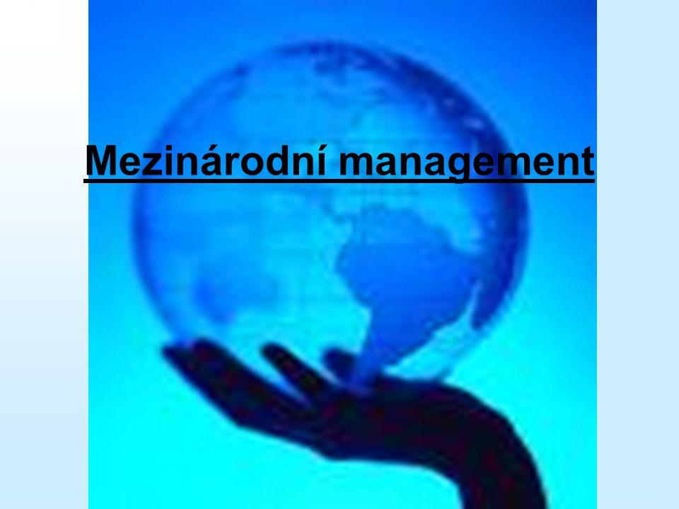 Mezinárodní management