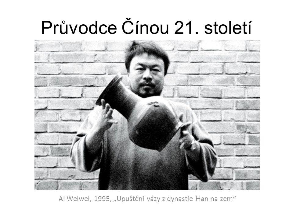 """Průvodce Čínou 21. století Ai Weiwei, 1995, """"Upuštění vázy z dynastie H an na zem"""""""