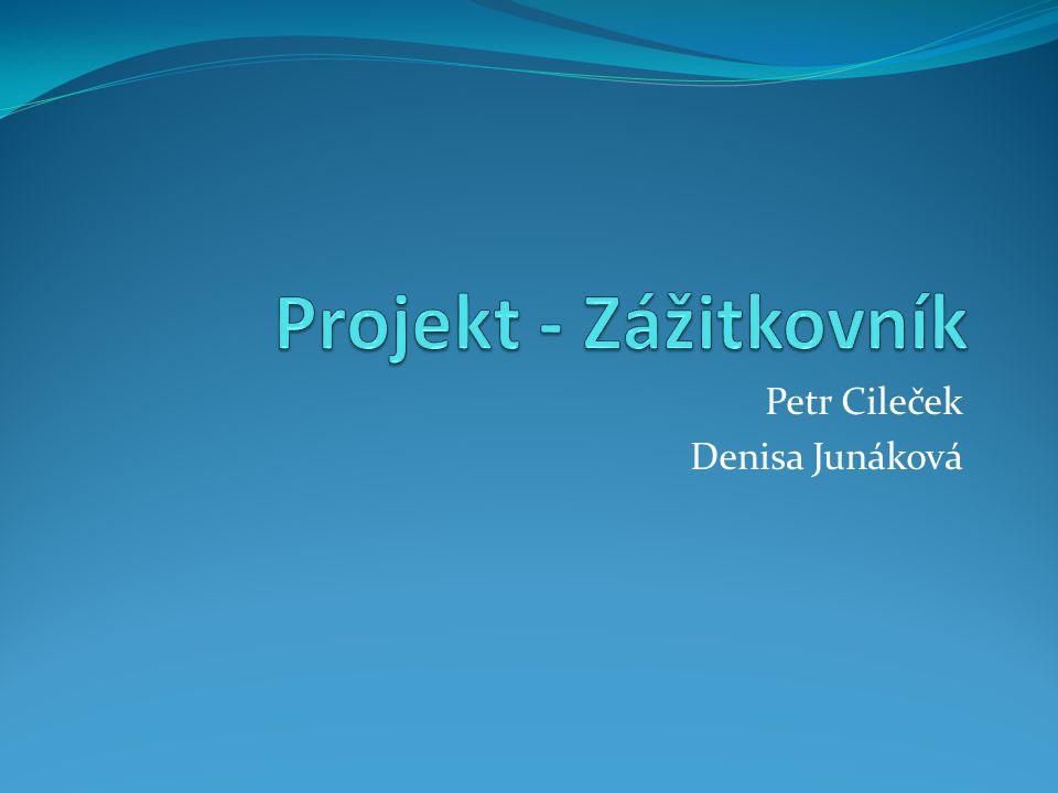 Petr Cileček Denisa Junáková