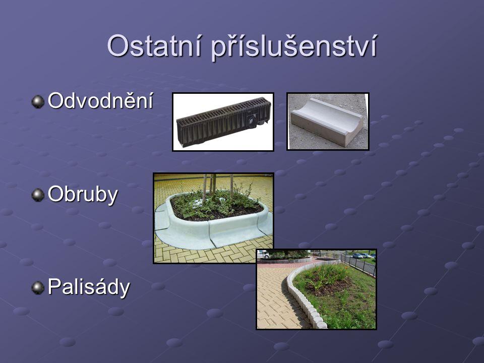 OdvodněníObrubyPalisády