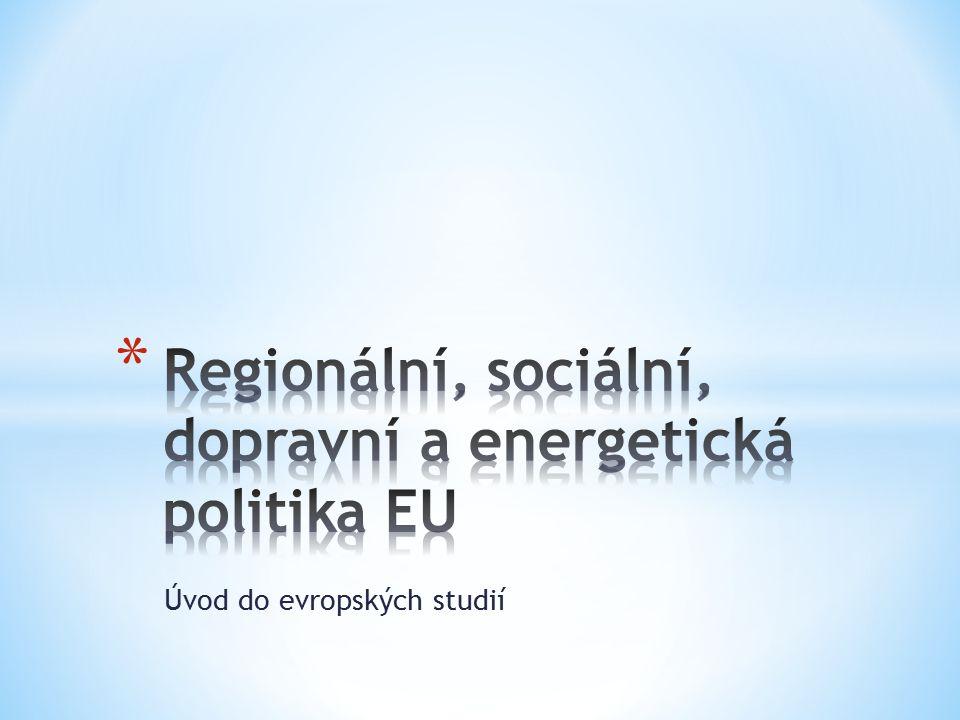 * Politika koheze, politika soudržnosti * Hlavní cíl: narovnat hospodářské a sociální rozdíly mezi vyspělými a zaostávajícími oblastmi prostřednictvím finanční pomoci * Základem je solidarita vyspělejších zemí se zaostávajícími