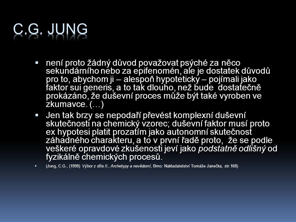 Poznámka pod čarou Jungovo řešení vědomí nevědomí víly a rusalky