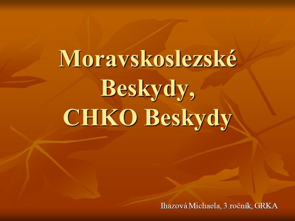 Moravskoslezské Beskydy, CHKO Beskydy Ihazová Michaela, 3.ročník, GRKA Ihazová Michaela, 3.ročník, GRKA