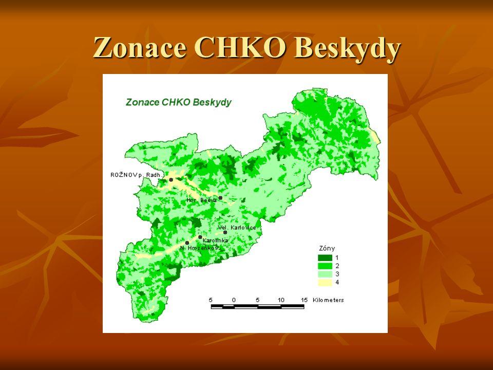 Zonace CHKO Beskydy