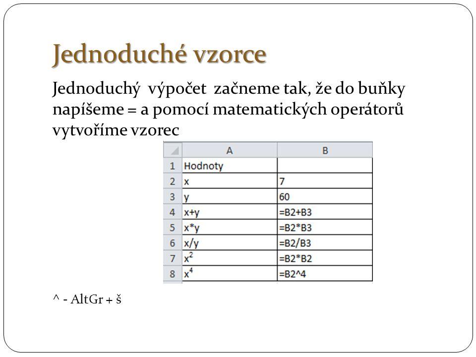 Funkce SVYHLEDAT vyhledá hodnotu v krajním levém sloupci tabulky a vrátí hodnotu zadaného sloupce ve stejném řádku.