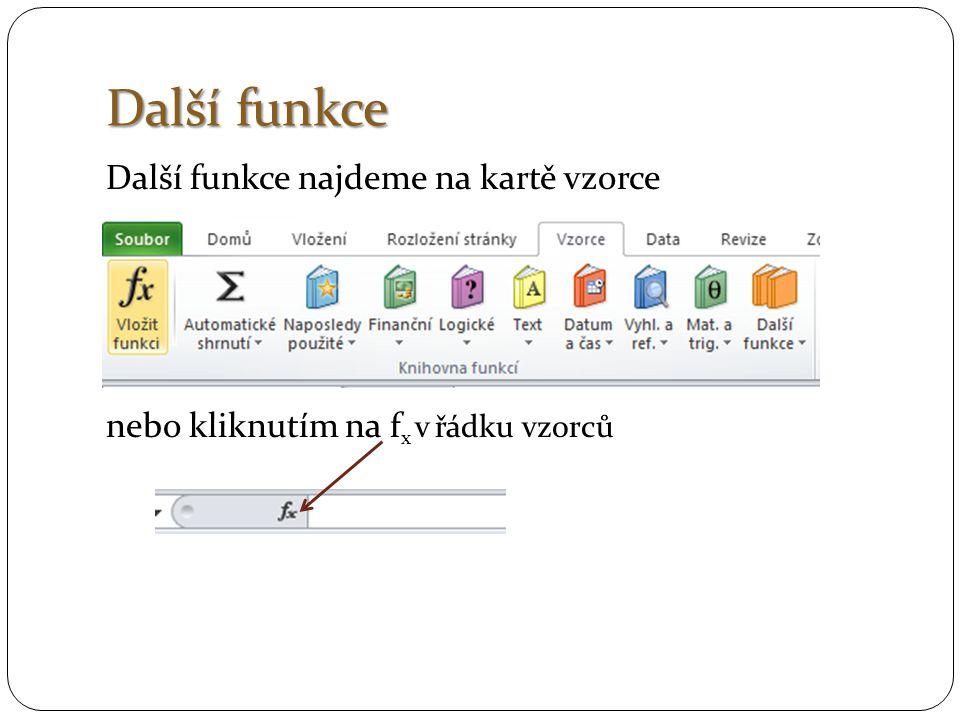 Ověření dat Ověřování dat se používá k řízení typu dat nebo hodnot, které do buněk zadává uživatel.