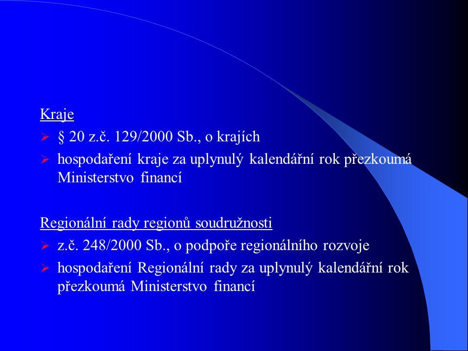Kraje  § 20 z.č.