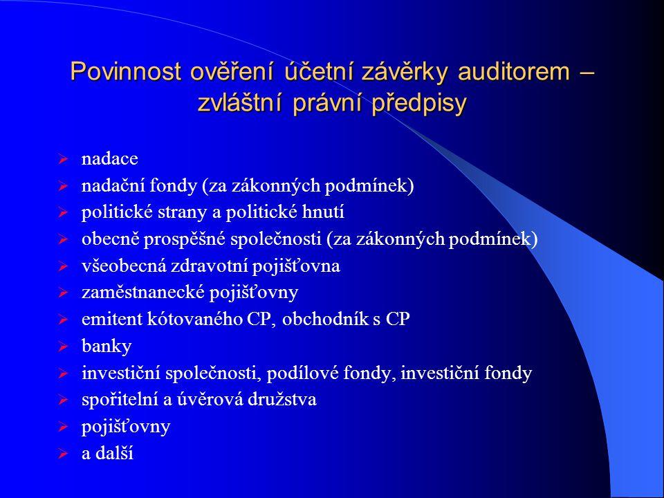 Auditorská směrnice č.