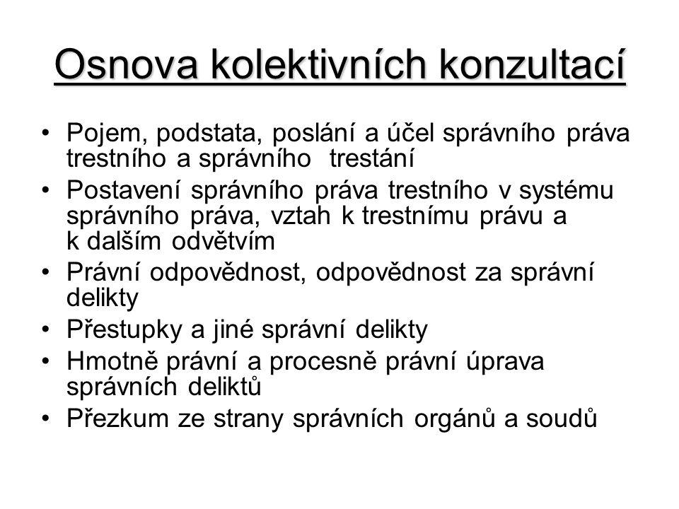 Literatura Doporučená literatura: –PRŮCHA, P.Správní právo.