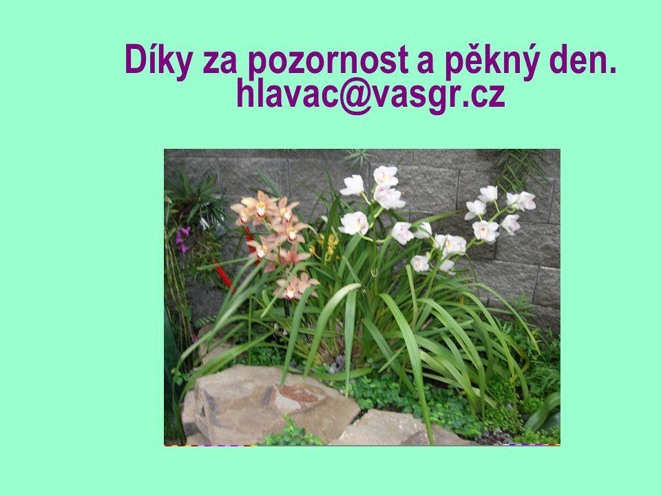 Díky za pozornost a pěkný den. hlavac@vasgr.cz