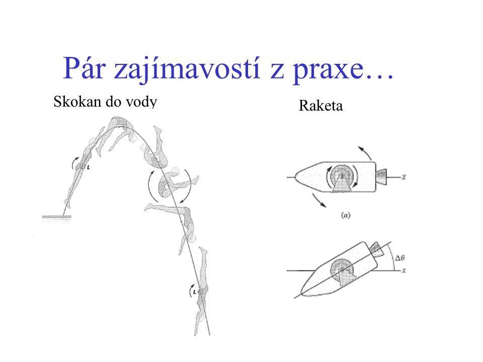 Pár zajímavostí z praxe… Skokan do vody Raketa