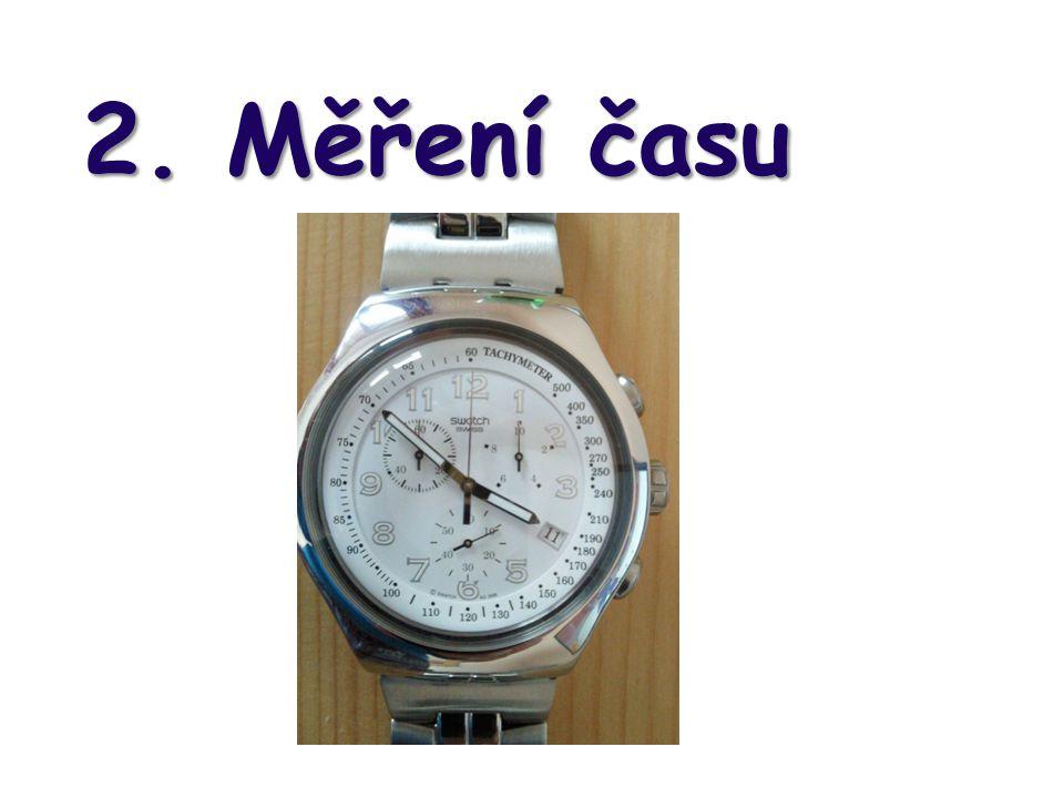 2. Měření času