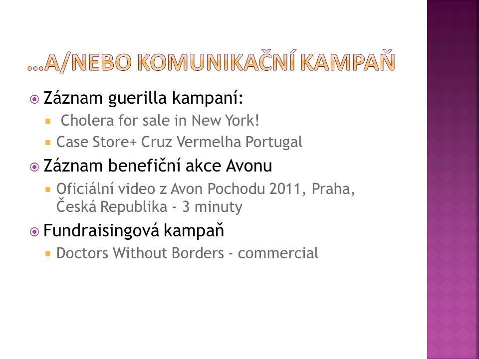  Záznam guerilla kampaní:  Cholera for sale in New York.