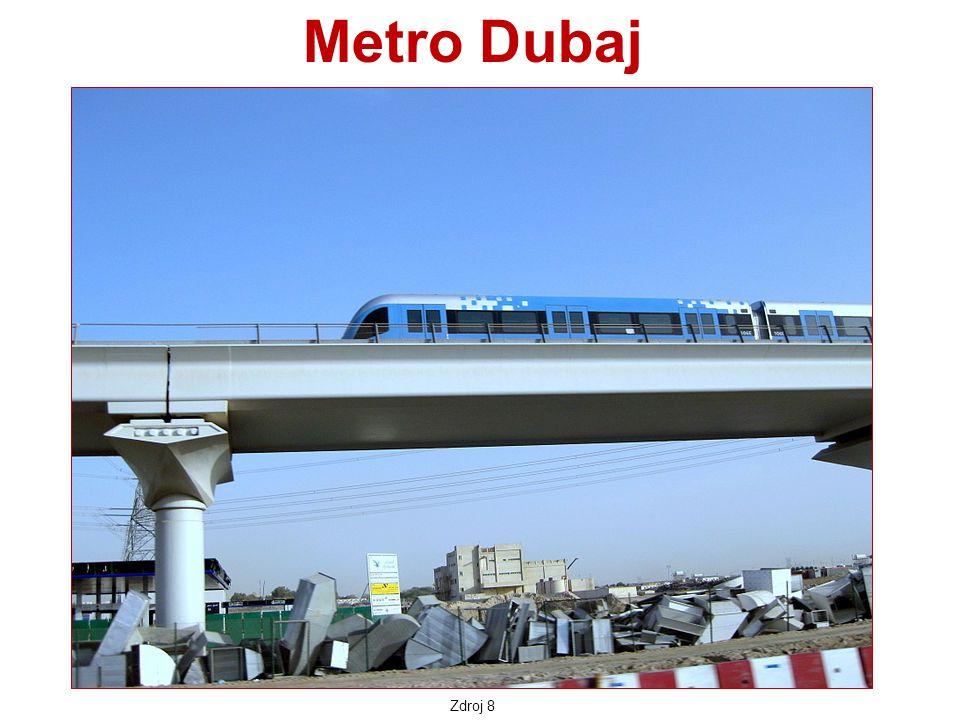 Zdroj 8 Metro Dubaj