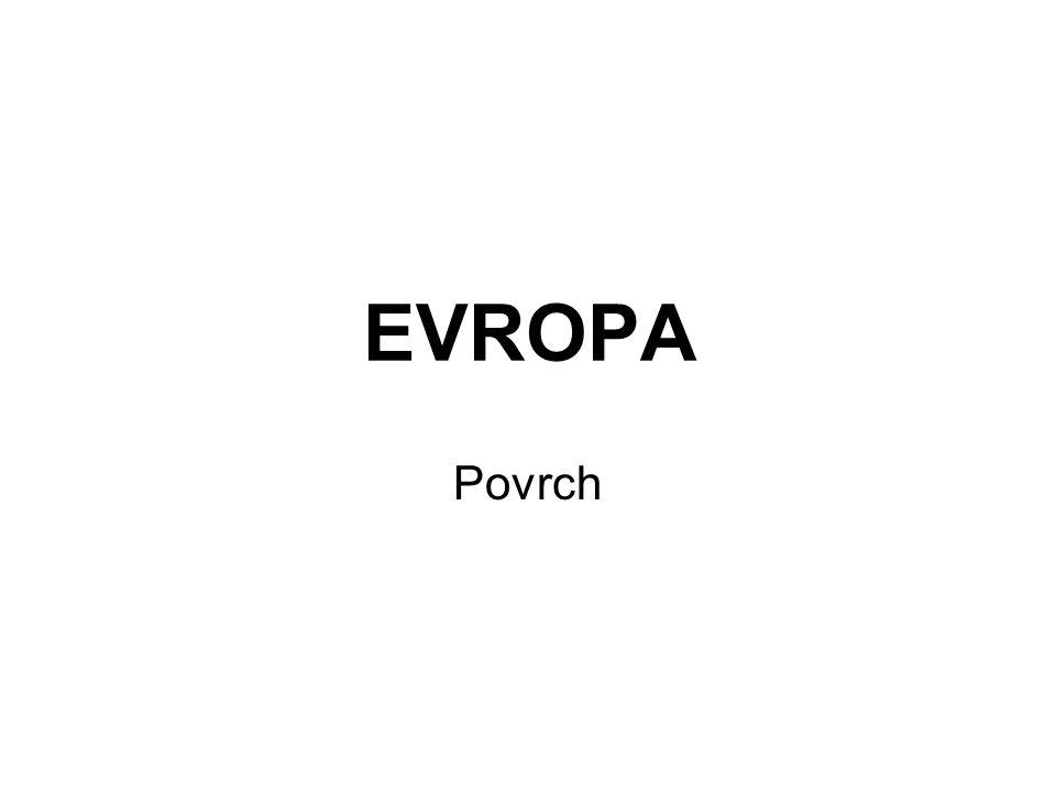 EVROPA Povrch