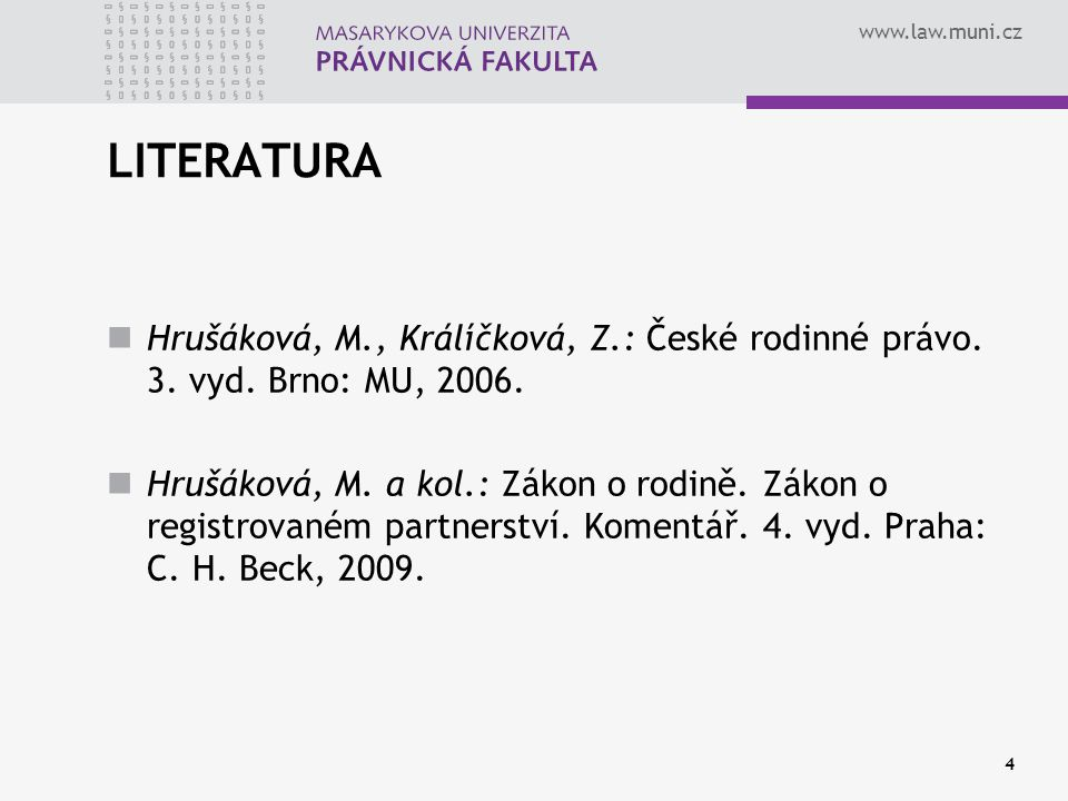 www.law.muni.cz 15 tzv.