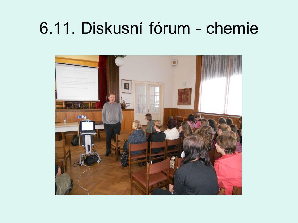 6.11. Diskusní fórum - chemie