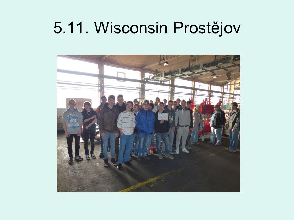 5.11. Wisconsin Prostějov