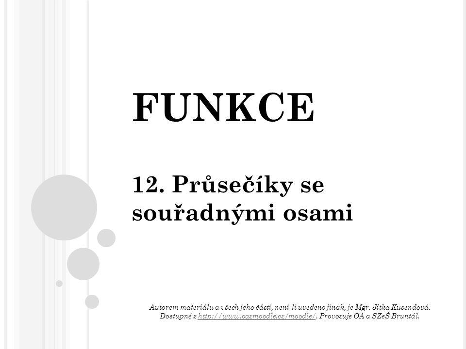 FUNKCE 12.